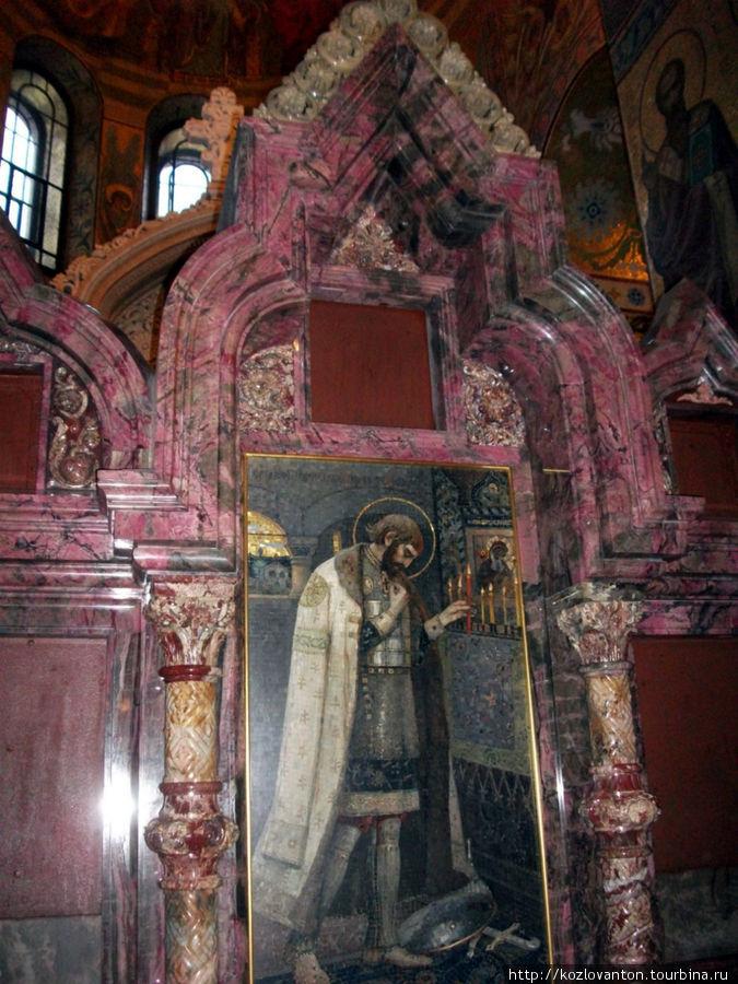Икона-мозаика северного киота