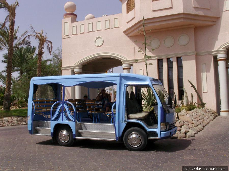 Авто от отеля на пляж