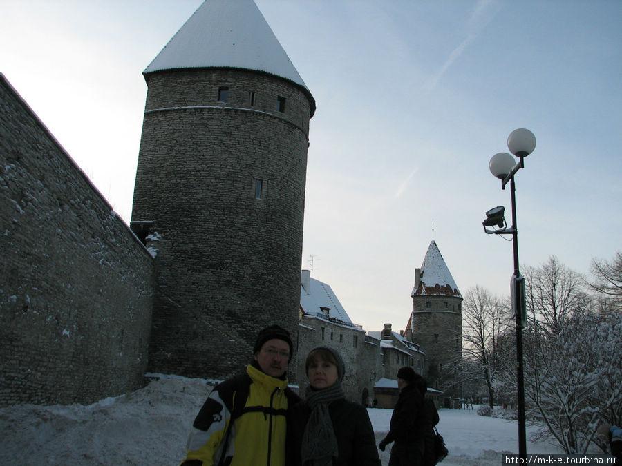 Башни крепостной стены