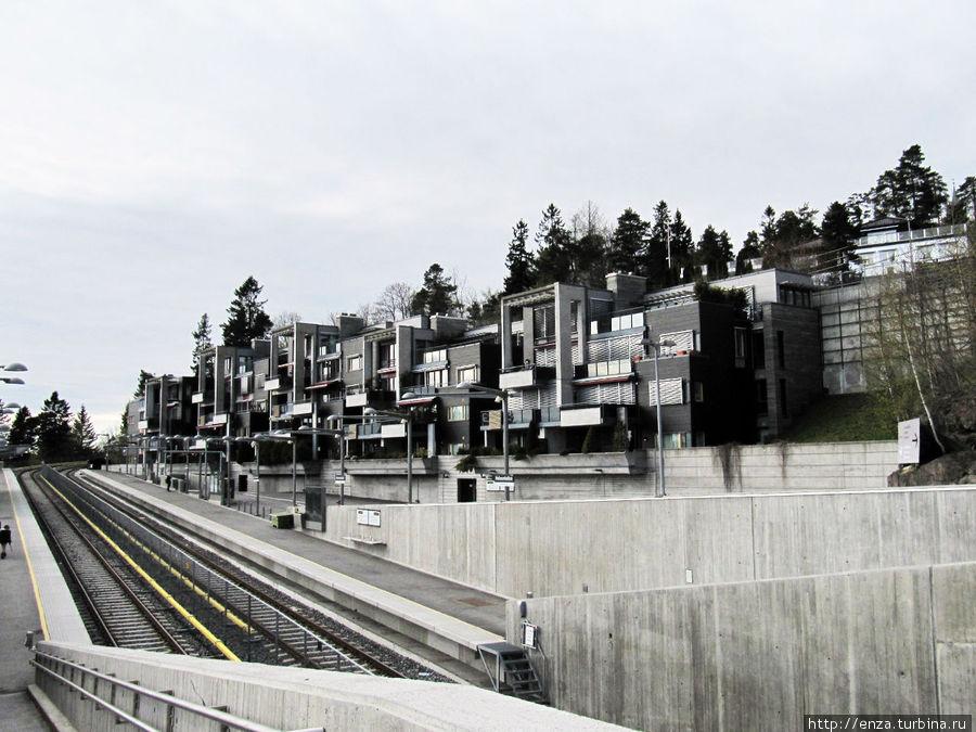 Станция метро Холменколлен