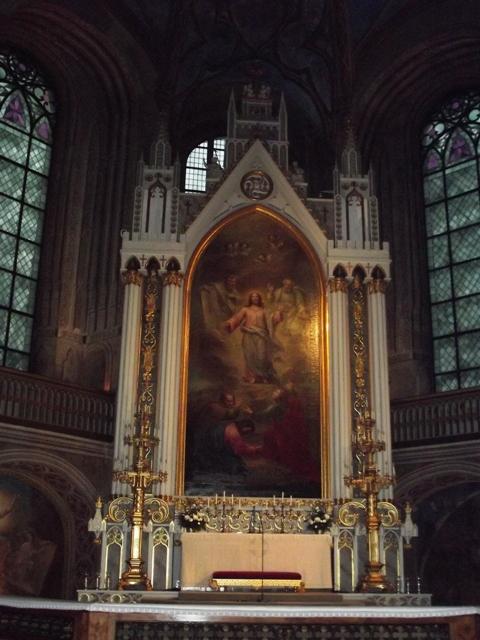 Алтарная часть собора в Т
