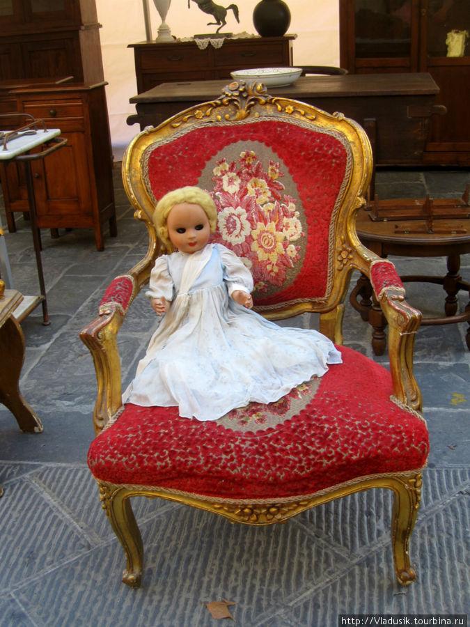Таких кукол я не люблю, они похожи на девочку из