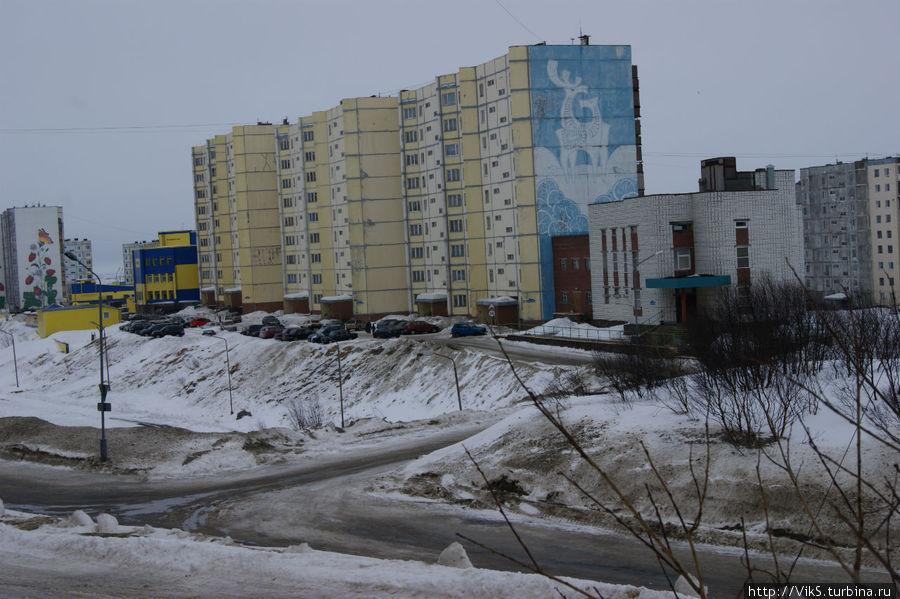 Город на сопках Снежногорск, Россия