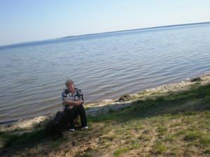 Вот какое оно, озеро Нарочь: до самого горизонта!