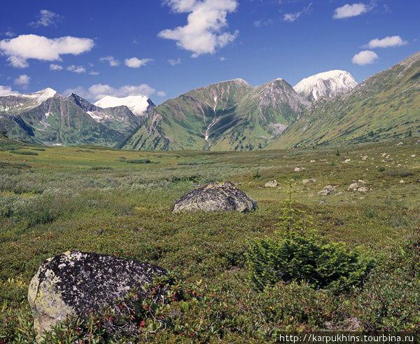 На перевале Первая Фомкина — Вторая Фомкина.