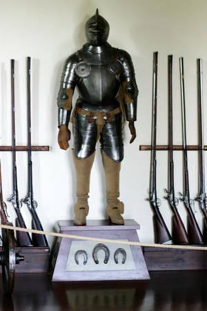 Коллекция оружия и амуниции