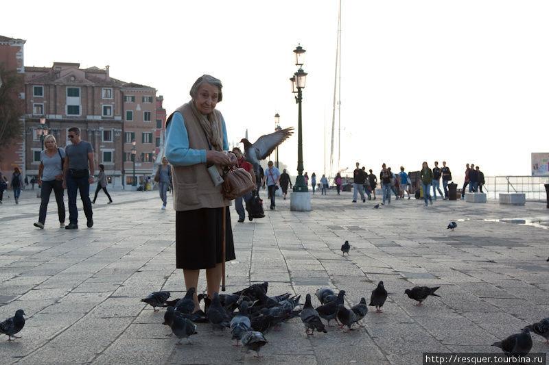 Венеция без туристов, наб
