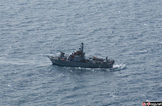 Патрульный корабль нашего ВМФ