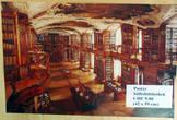 Постер, дающий представление о зале библиотеке в стиле рококо