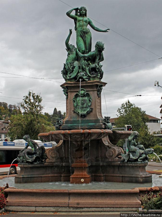 Фонтан Broderbrunnen, 19 век