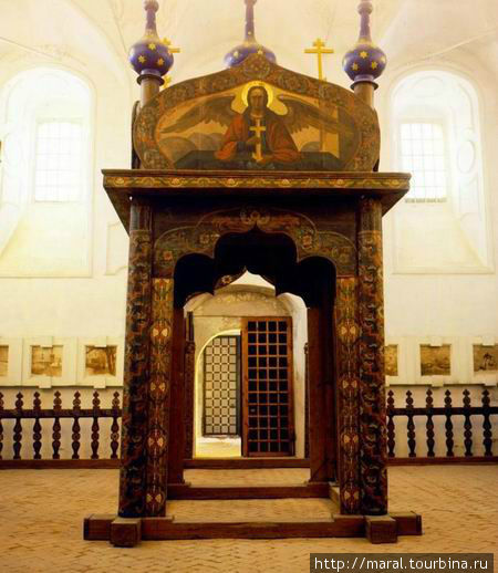 Иорданская сень — уникальный памятник древнерусского искусства XVII века