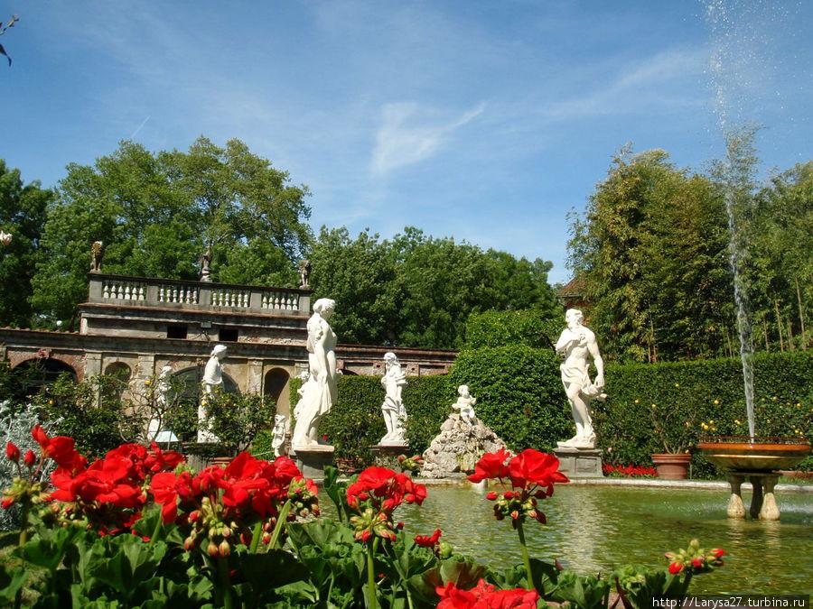 Сад Палаццо Пфаннер