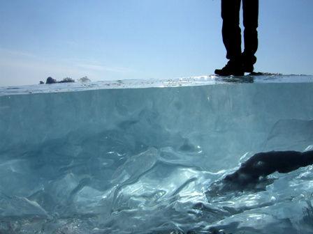 Глубина льда
