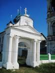 Воскресенская церквь в Чёрной Заводи. Некасовский район Ярославской области