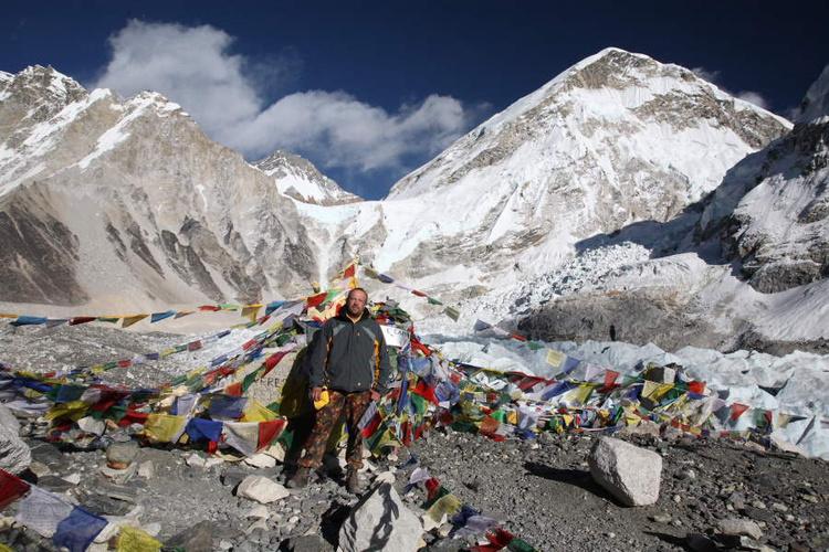 В Базовом Лагере Эвереста