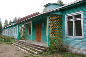 деревенская школа, Харовский район