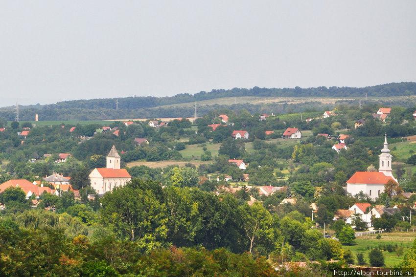 Сельские виды по дороге в Залакарош