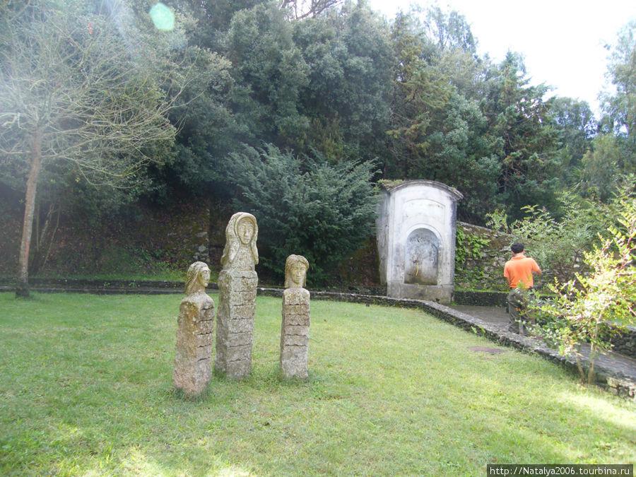Памятник горнякам.