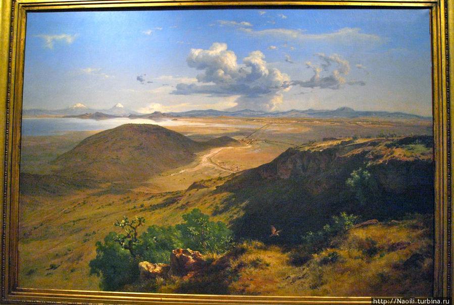 Долина Мехико, 1877