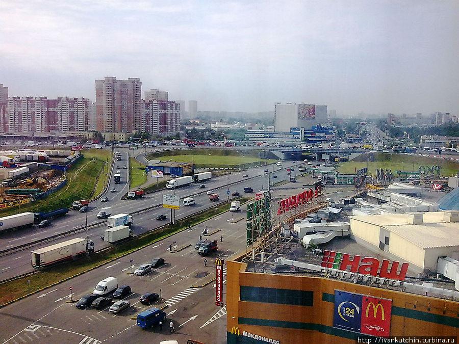 Вид из окна 10 этажа