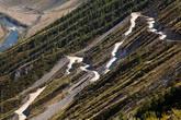Фрагменты дороги на перевале Кату-Ярык