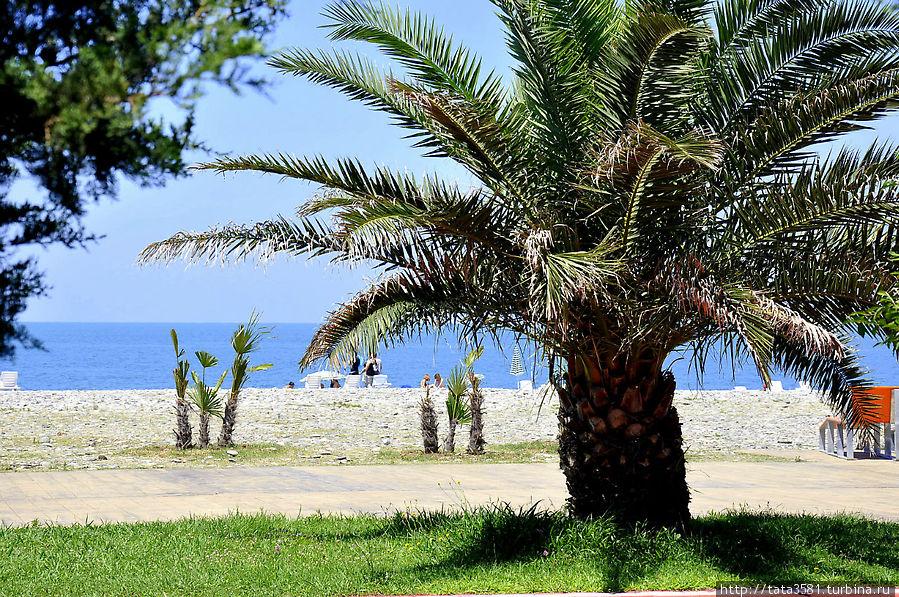 Батумский пляж Батуми, Грузия