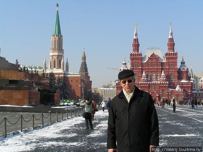 Обязательная церемония — побывать на Красной площади
