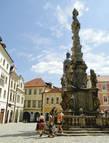 Чумной столб в кутна-Горе возвели в 1713 году, ознаменовав окончание эпидемии бубонной чумы