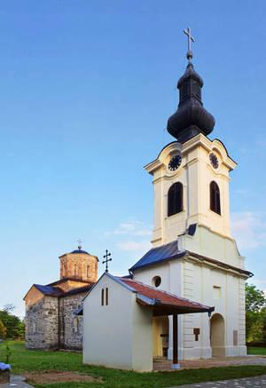 Монастырь Месич Церковь Иоанна Крестителя