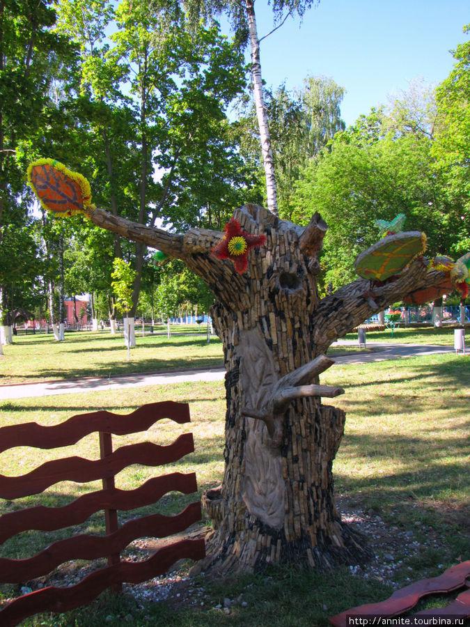 Необычное дерево.