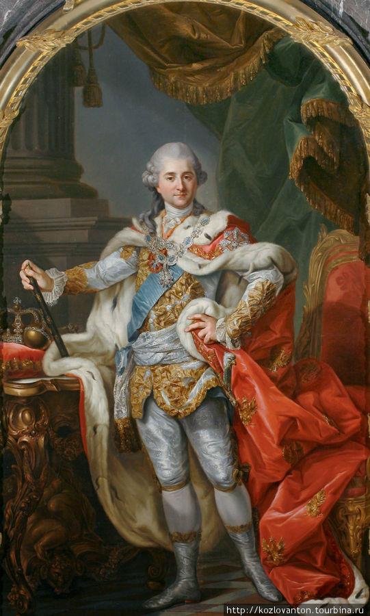 Марчелло Баччиарелли. Портрет Станислава Августа Понятовского в коронационных одеждах (1768 г.).
