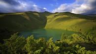 Озеро Аулиеколь в верховьях Каракыстака. Киргизский хребет.