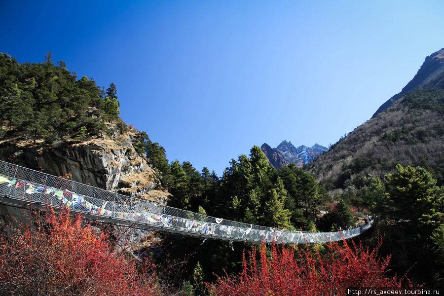 Очередной подвесной мост