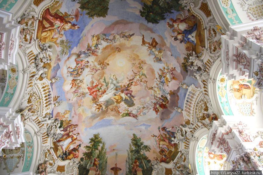 Afresco Central da Ascensão de Maria