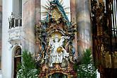 Св.Михаил. Скульптура Й. Й. Кристиана.