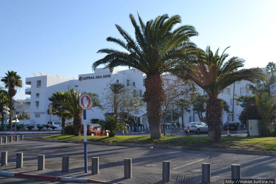 Отель Coral Sea Side.