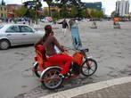 На весёлом мотоцикле