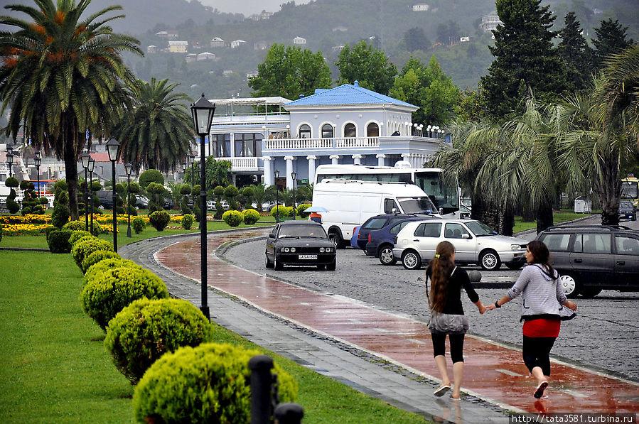 Дождливый день в Батуми Батуми, Грузия