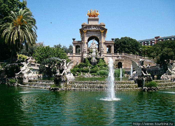 Cascada или Монументальный каскадный фонтан