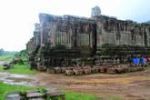 Руины монастырского храма