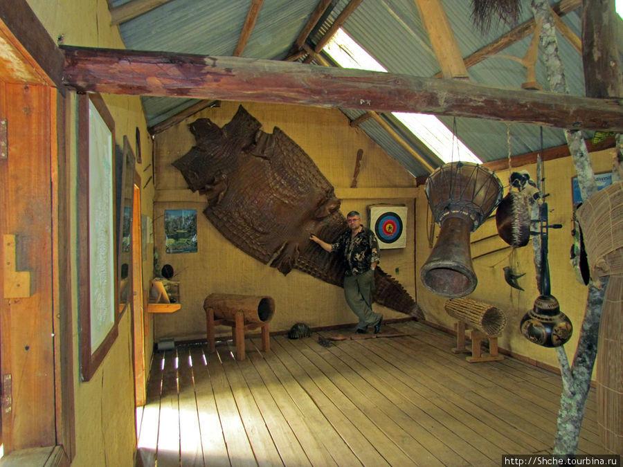 Небольшой музей в частном парке