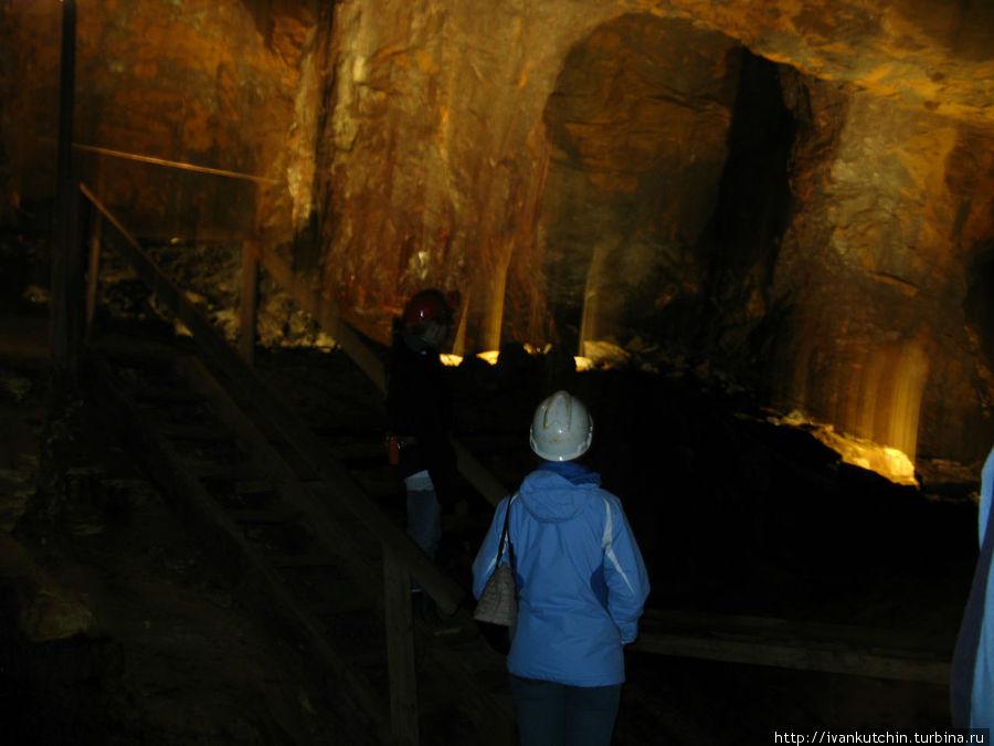 Подземные залы