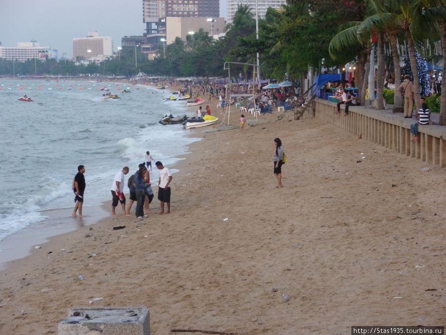 Паттайя. Горолской пляж.