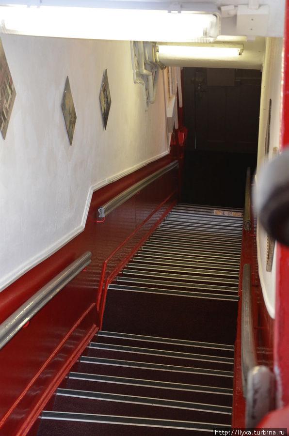 Лестница в номер