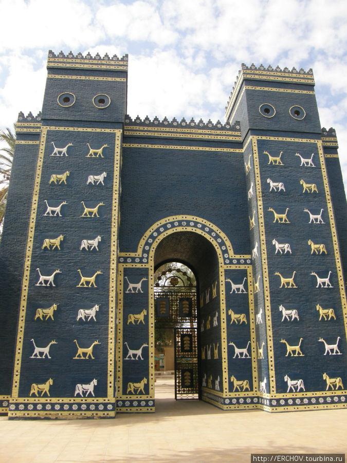 картинка ворот богини иштар декори
