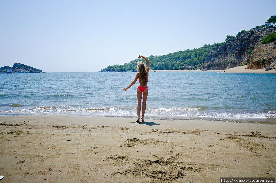 фото турция пляж